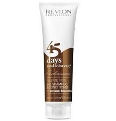 Revlon Professional Revlonissimo Color Care Shampoo&Conditioner S Brunettes - Шампунь-кондиционер для шоколадных оттенков, 275 мл