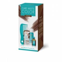 Moroccanoil Color meets Care Cocoa - Набор Тонир маска Cocoa 30мл+ сух шампунь д/т.волос 65мл+ масло для волос 15мл+ мини-расческа