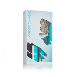 Moroccanoil - Набор для укладки и стайлинга (масло для светлых 100мл+щетка Лопатка)
