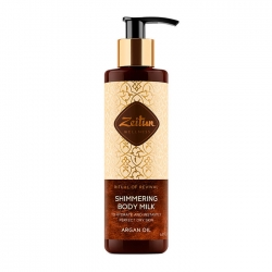Zeitun Ritual Of Revival Shimmering Body Milk - Argan Oil - Молочко Сияющее для тела с маслом арганы, 200мл
