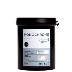 Gloria Monochrome Sugar paste for depilation Dense - Сахарная паста для депиляции плотная корректирующая, 800 г