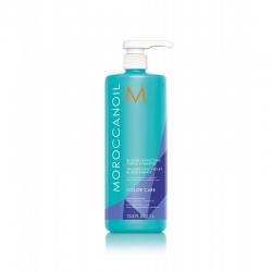 Moroccanoil Blonde Perfecting Purple - Тонирующий шампунь с фиолетовым пигментом для светлых волос, 1000 мл