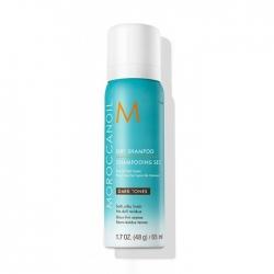 Moroccanoil Dry Shampoo - Сухой шампунь темный тон, 65 мл