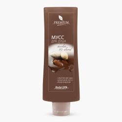 Premium Silhouette Chocolate&Almond - Мусс для душа, 200 мл