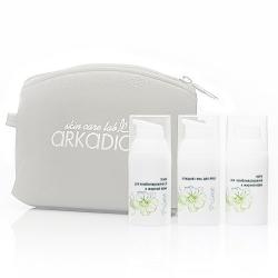 Аркадия Oily home - Дорожный набор для жирной/комб. кожи, 3*30мл