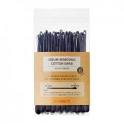 The Saem Sebum-Removing Cotton Swab - Набор ватных палочек для очистки пор, 20 шт