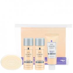 Holika Holika Skin & Good Cera Travel Kit - Набор для путешествий из 4 мини-версий с керамидами, 30 мл +30мл+20мл+30г