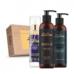 Zeitun For Men - Набор для ухода за телом и волосами с натуральными компонентами