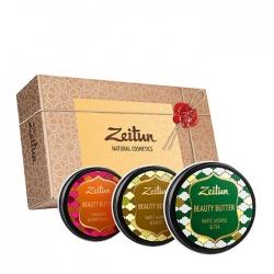 Zeitun - Набор подарочный Секреты красоты из трёх универсальных бьюти-баттеров 3*55 мл