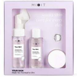 MIXIT Your Skin Daily Set Normal to Dry - Набор Трёхступенчатый уход за нормальной и склонной к сухости кожи лица