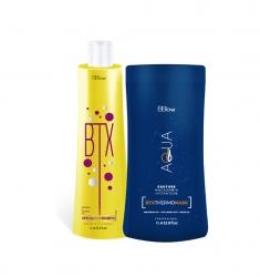 BB ONE Aqua Couture MACADAMIA HYDRATION ВТХ - Набор Ботокс для волос  (шаг 1 BTX Special Hair + шаг 2 MACADAMIA HYDRATION ВТХ) 2*1000мл