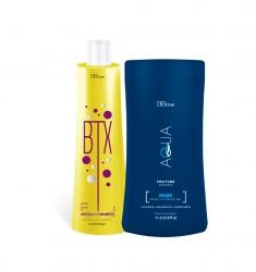 BB ONE Aqua Couture  SPIDER DEEP HYDRATION - Набор Холодный ботокс  (шаг 1 BTX Special Hair + шаг 2 SPIDER DEEP HYDRATION) 2*1000мл