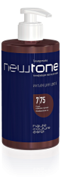 Estel NewTone - Тонирующая маска для волос 7/75 (русый коричнево-красный), 435 мл
