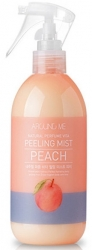 Welcos Around me Natural Perfume Vita Peeling Mist Peach - Пилинг-мист для тела  с ароматом персика, 300 мл