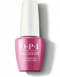 OPI Lisbon Gel Color - Гель-Лак для ногтей No Turning Back From Pink Street, 15 мл