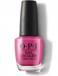 OPI Lisbon - Лак для ногтей No Turning Back From Pink Street, 15 мл