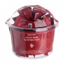 Ayoume Enjoy Mini Sleeping Pack - Ночная маска антивозрастная, 30шт*3г