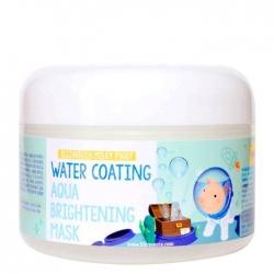 Elizavecca Milky Piggy Water Coating Aqua Brightening Mask - Маска ночная для лица увлажняющая, 100 мл