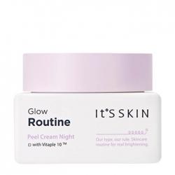 It's Skin Glow Routine Peel Cream Night - Ночной крем для выравнивания тона на основе витаминов, 50 мл