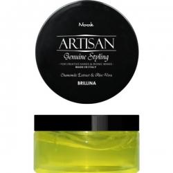 Nook Artisan Brillina Glossy Shining Wax - Воск-блеск для укладки волос, 100 мл