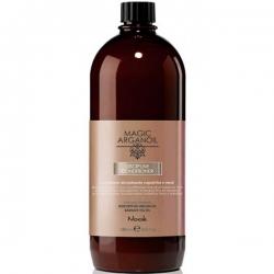 Nook Magic arganoil Disciplining Conditioner hair anti-frizz - Кондиционер для ухода за тонкими и непослушными волосами, 1000 мл