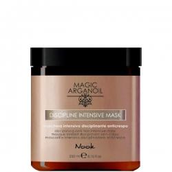 Nook Magic arganoil Disciplining anti-frizz intensive Mask - Маска интенсивная для ухода за непослушными волосами, 250мл