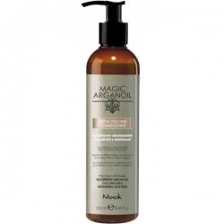 Nook Magic arganoil Extra Volume Latte Condtioner - Кондиционер для придания объема тонким и наэлектризованным волосам, 250мл