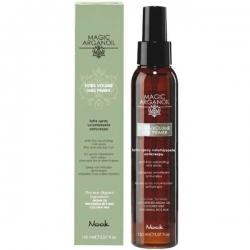 Nook Magic arganoil Extra Volume anti-frizz Thermal Milk - Молочко-праймер для придания объема тонким волосам, 150мл