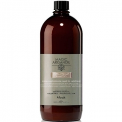 Nook Magic arganoil Extra Volume Shampoo - Шампунь для придания объема тонким и наэлектризованным волосам, 1000мл