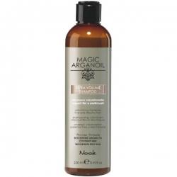 Nook Magic arganoil Extra Volume Shampoo - Шампунь для придания объема тонким и наэлектризованным волосам, 250мл