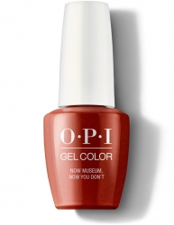 OPI Lisbon Gel Color - Гель-Лак для ногтей Now Museum, Now You Don't, 15 мл