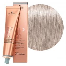 Schwarzkopf BlondMe White Blending Ice - Осветляющий крем для седых волос Лед, 60 мл
