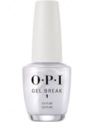 OPI Gel Color Gel Break Serum Base Coat - Восстанавливающее выравнивающее базовое покрытие, 15 мл