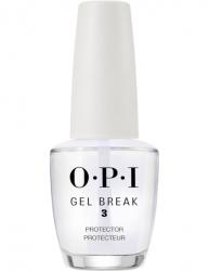 OPI Gel Color Gel Break Protector Top Coat - Защищающее верхнее покрытие с глянцевым финишем, 15 мл
