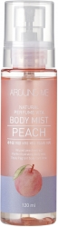 Welcos  Around me Natural Perfume Vita Body Mist Peach - Спрей  с ароматом персика, 120 мл