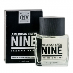 American Crew Nine - Туалетная вода для мужчин, 75 мл