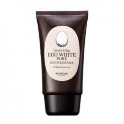 Skinfood Egg White Pore Hot Steam Pack - Очищающая маска на основе яичного белка, 100 мл