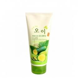 FoodaHolic Cucumber Fresh Water Foam Cleansing - Пенка для умывания лица с экстрактом огурца, 180 мл