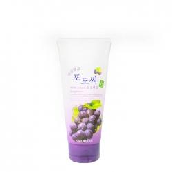 FoodaHolic Grapestone Keratin Scaling Foam Cleansing - Пенка для умывания лица с натуральным экстрактом виноградных косточек, 180 мл