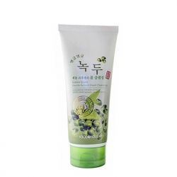 FoodaHolic Green Gram Gentle Refresh Foam Cleansing - Пенка для умывания лица с экстрактом бобов Мунг, 180 мл