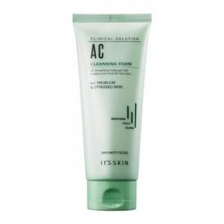 It's Skin Clinical Solution AC Cleansing Foam - Очищающая пенка для умывания проблемной кожи лица с маслом чайного дерева, 150 мл
