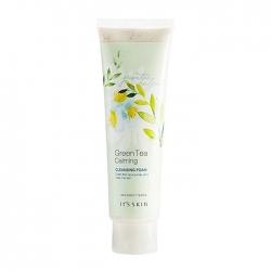 It's Skin Green Tea Calming Cleansing Foam - Очищающая пенка с экстрактом зелёного чая, 150 мл