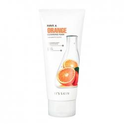 It's Skin Have a Orange Cleansing Foam - Очищающая пенка с экстрактом апельсина, 150 мл