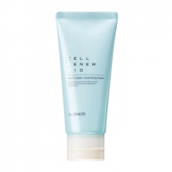 The Saem Cell Renew Bio Micro Peel Cleansing Foam - Пенка для умывания кожи лица с эффектом лёгкого пилинга, 170 мл