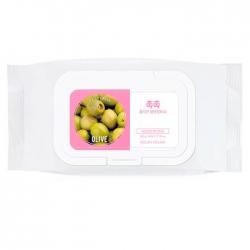 Holika Holika Daily Fresh Olive Cleansing Tissue - Очищающие салфетки с оливой, 60 г