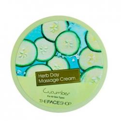 The Face Shop Herb Day Cleansing Cream Cucumber - Очищающий крем для лица c экстрактом огурца, 150 мл