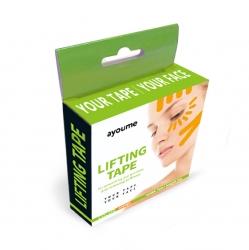 Ayoume Kinesiology tape roll - Тейп для лица оранжевый,  1см*5м