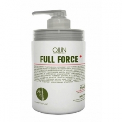 Ollin Full Force Bamboo Extract - Маска для волос и кожи головы с экстрактом бамбука 650 мл