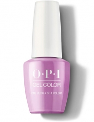 OPI Iceland Gel Color - Гель-Лак для ногтей One Heckla of a Color!, 15 мл