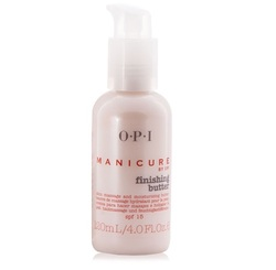 OPI Finishing Butter - Крем-масло для массажа рук и увлажнения кожи, 120 мл